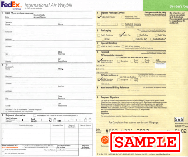 blog-sample-international-air-waybill-fedex